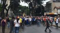 (Video)-Disuelven concentración en la Plaza Madariaga