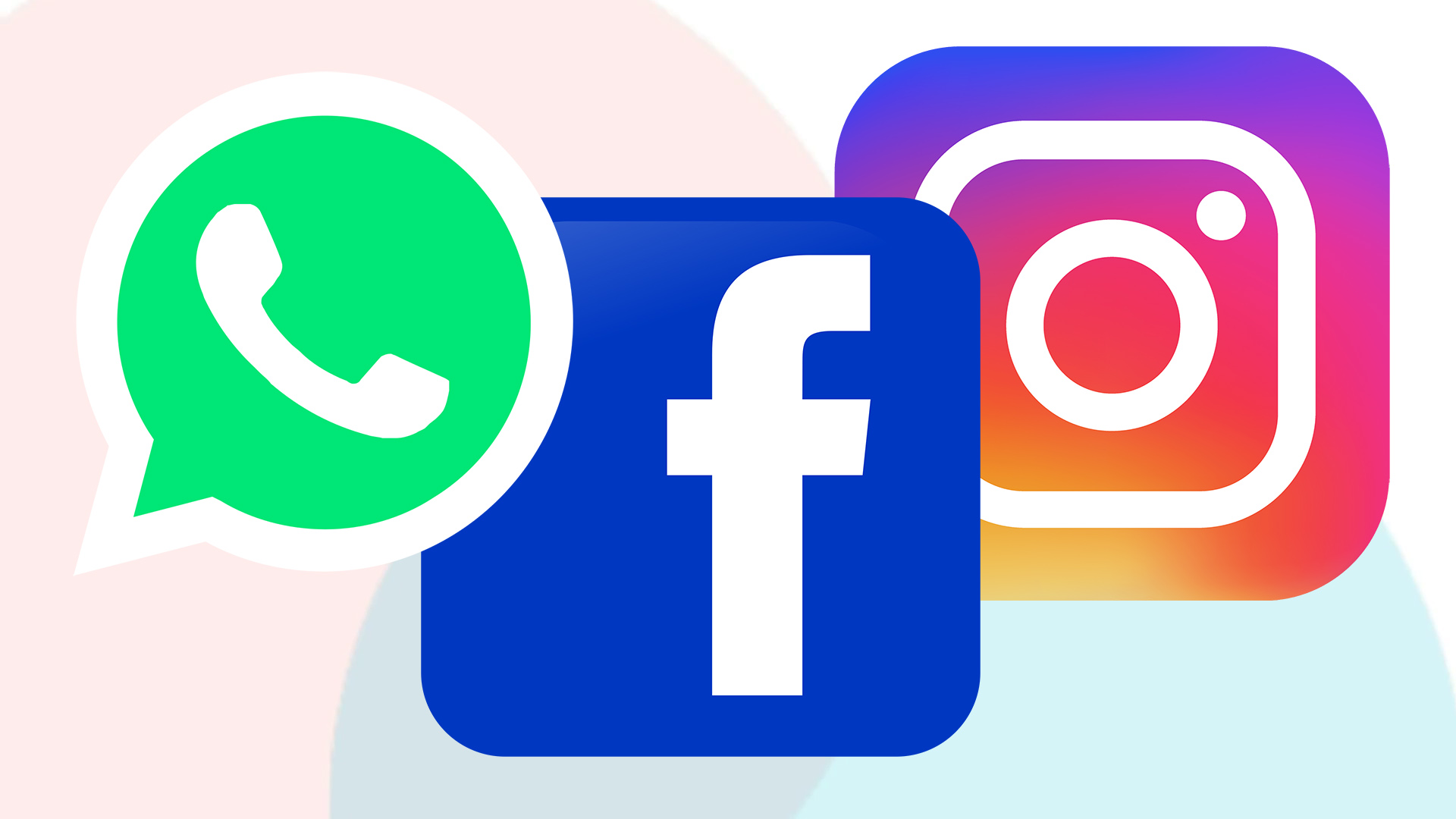 Reportan fallas de WhatsApp, Facebook e Instagram