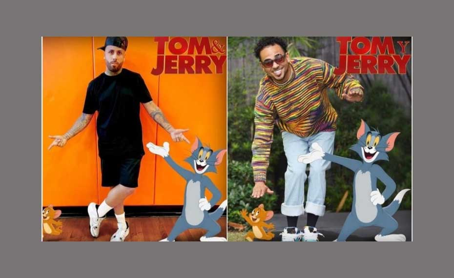 Ozuna y Nicky Jam participaran en film de Tom y Jerry