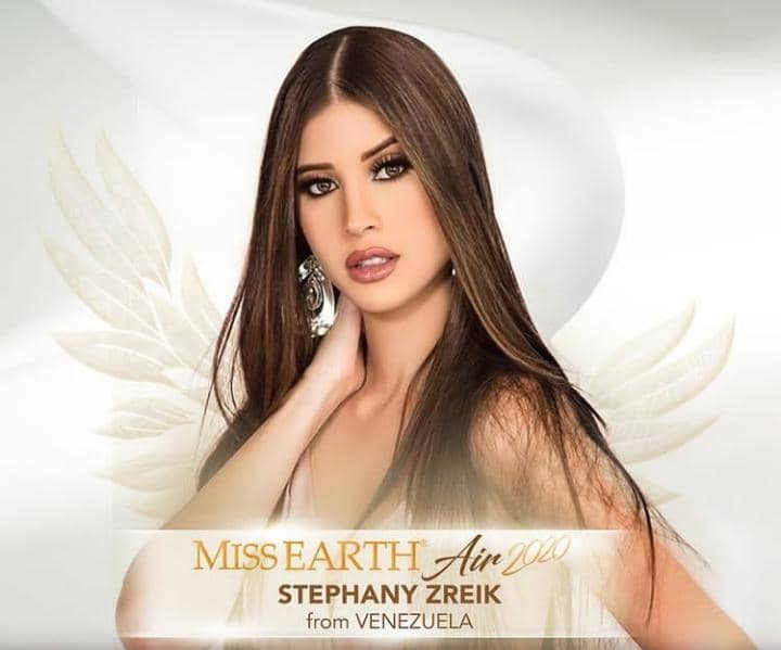 La venezolana Stephany Zreik se alza con el título de Miss Earth Air 2020