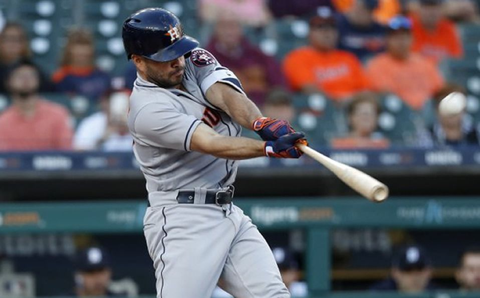 Altuve colaboró en triunfo de Houston (VIDEO)
